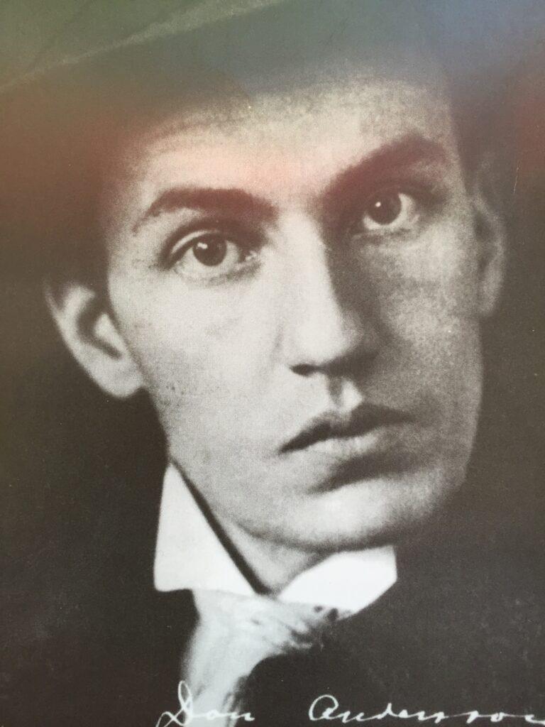 Dan Andersson. Foto: Konrad Öberg.